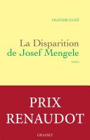 La disparition de Josef Mengele