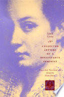 Collected Letters of a Renaissance Feminist Book PDF