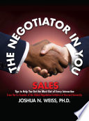 The Negotiator in You  Sales
