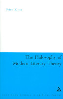 The Philosophy of Modern Literary Theory