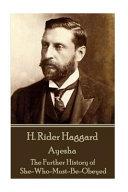 download ebook h rider haggard - ayesha pdf epub