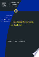 Interfacial Separation of Particles