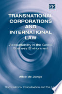 Transnational Corporations and International Law Free download PDF and Read online
