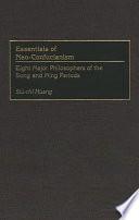 Essentials of Neo Confucianism