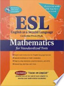 ESL Mathematics for Standardized Tests