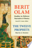 Berit Olam The Twelve Prophets book