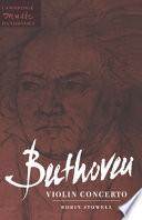 Beethoven: Violin Concerto This Genre To Appear Between Mozart S Five Concertos