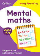 Collins Easy Learning Age 7 11    Mental Maths Ages 7 9  New Edition
