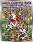 Adult Coloring Book Variety Themes  3