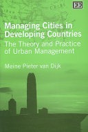 Managing Cities in Developing Countries