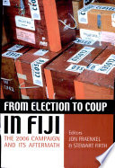 From Election to Coup in Fiji