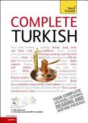 Teach Yourself Complete Turkish
