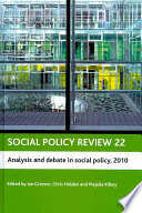Analysis and Debate in Social Policy  2010