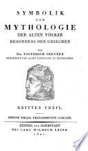 Symbolik und Mythologie der alten V  lker  besonders der Griechen   Dritter Theil