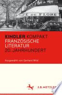 Kindler Kompakt  Franz  sische Literatur  20  Jahrhundert