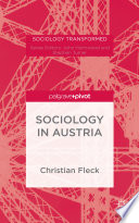 Sociology in Austria