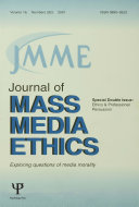 Ethics and Professional Persuasion
