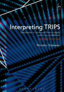 Interpreting TRIPS : Globalisation Of Intellectual Property Rights And Access To Medicines : ...