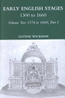 Early English Stages  1576 1600