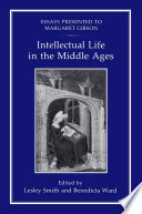 Intellectual Life In The Middle Ages book