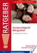 Zweisprachigkeit Bilingualit T