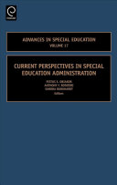 Current Perspectives In Special Education Administration book