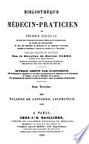 Biblioth  que du m  decin pratician