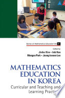 Mathematics Education in Korea