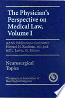 The Physician S Perspective On Medical Law