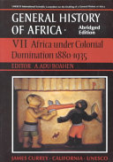 Africa Under Colonial Domination  1880 1935 Civilizations And Shows The Historical Relationships Between