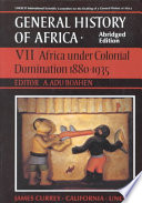 Africa Under Colonial Domination  1880 1935