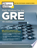 Math Workout for the GRE  4th Edition