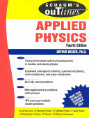 Schaum s Outline of Theory and Problems of Applied Physics