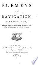 Elemens de Navigation