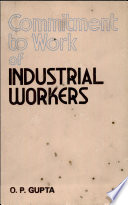 Commitment to Work of Industrial Workers