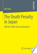 The Death Penalty in Japan In Japan Focusing On Knowledge And Trust Based