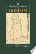 The Cambridge Companion to Ockham