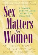 Sex Matters for Women