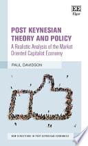 Post Keynesian Theory And Policy book