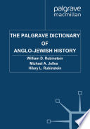 The Palgrave Dictionary of Anglo-Jewish History