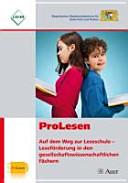 ProLesen - auf dem Weg zur Leseschule