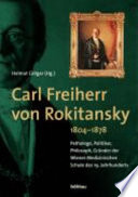 Carl Freiherr von Rokitansky (1804-1878)