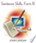 Sentence Skills  A Workbook for Writers  Form B