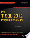 Pro T SQL 2012 Programmer s Guide