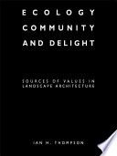 Ecology  Community and Delight