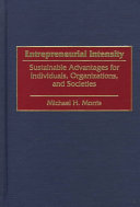 Book Entrepreneurial Intensity