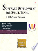 Software Development for Small Teams