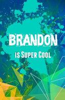 Brandon Is Super Cool