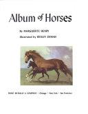 ALBUM OF HORSES : ...