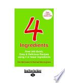 4 Ingredients  Uk Edition
